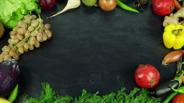 Vegan-diet-dinner-menu-stop-motion