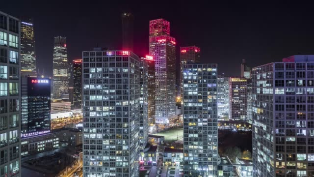 Beijing-CBD-office-building-time-lapse