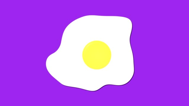 fried-egg-icon-cartoon-food-animation
