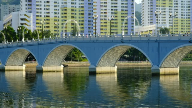 Puente-de-arco-en-Hong-Kong