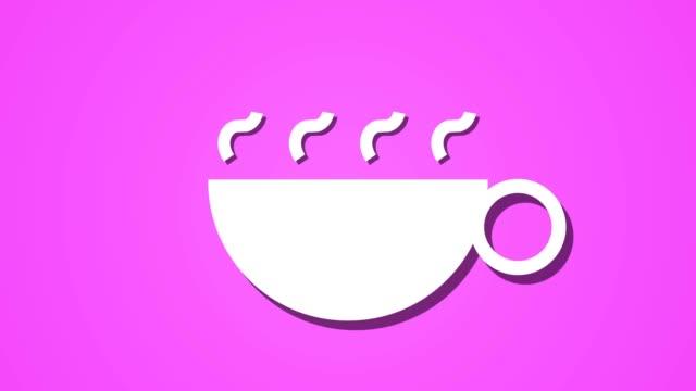 steaming-hot-drink-coffee-tea-animation-loop-background-pink