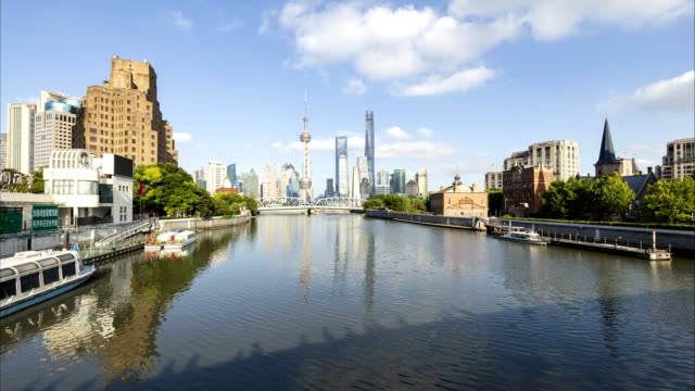 Timelapse-of-Shanghai-skyline-and-cityscape