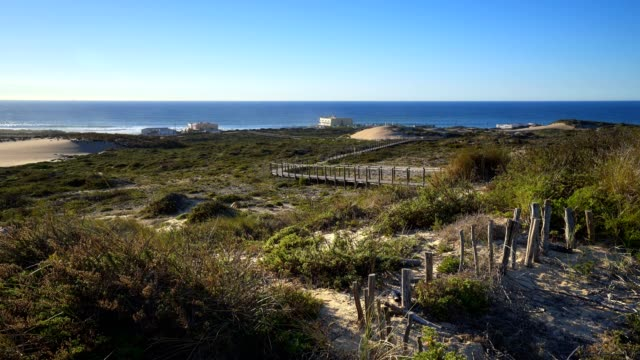 Praia-do-Guincho-Beach-on-a-summer-day-in-Sintra-Portugal