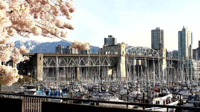 Burrard-Street-Bridge-Marina-Vancouver-Spring
