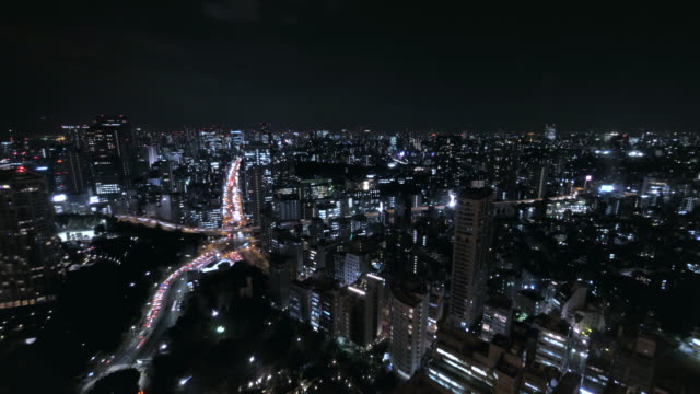 4K-aerial-time-lapse-of-Tokyo-Crossroad---Shibuya-area
