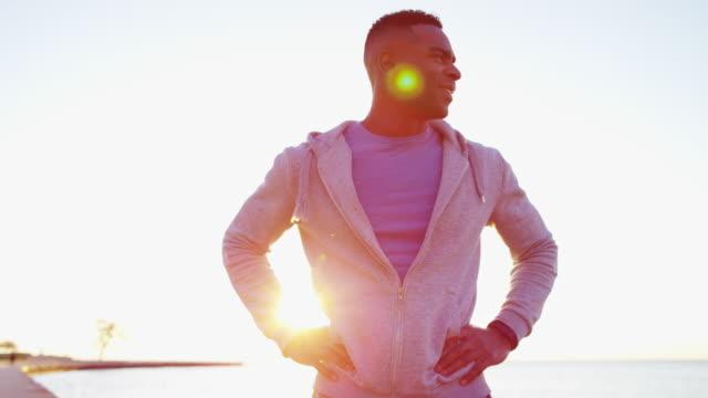 African-American-male-weightloss-training-wearing-smart-watch