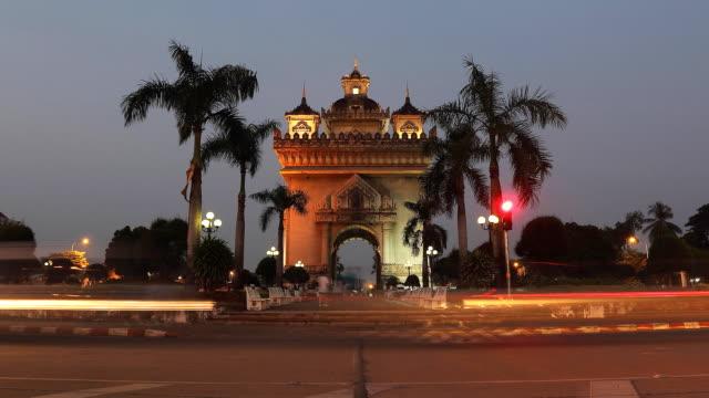 Patuxai-in-Vientiane-Laos-timelapse