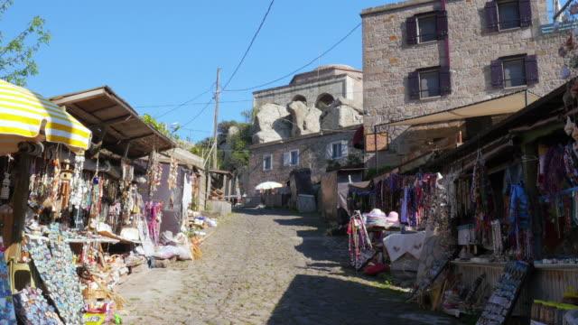 Traditional-stone-houses-old-Turkish-villages-around-Assos-Canakkale-Turkey