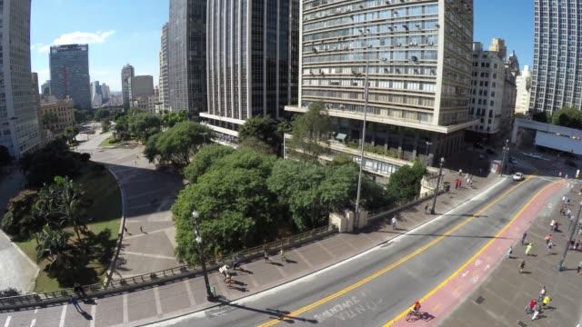Aerial-View-of-Sao-Paulo-Downtown---Anhangabau-Valley-Brazil
