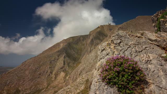 panorama-de-Santorini-island-día-soleado-colina-superior-4-tiempo-k-caer-Grecia