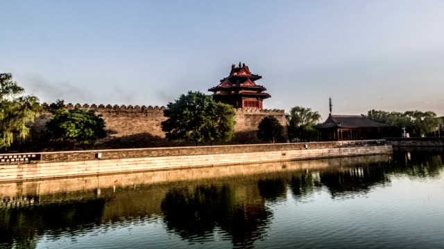 Different-view-of-the-turret-of-Palace-Museum-Beijing-China