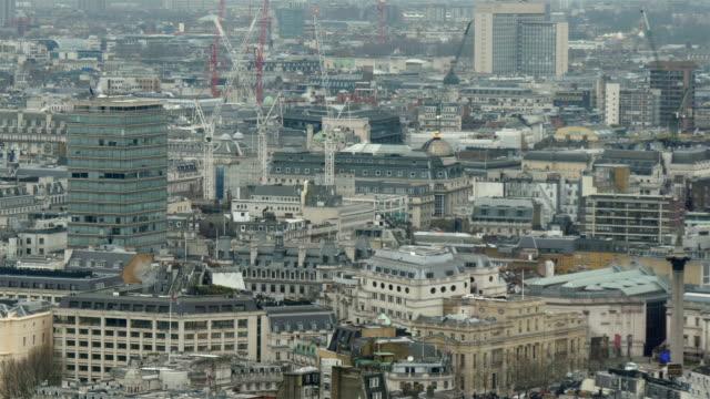 La-ciudad-urbana-de-Londres-por-la-mañana