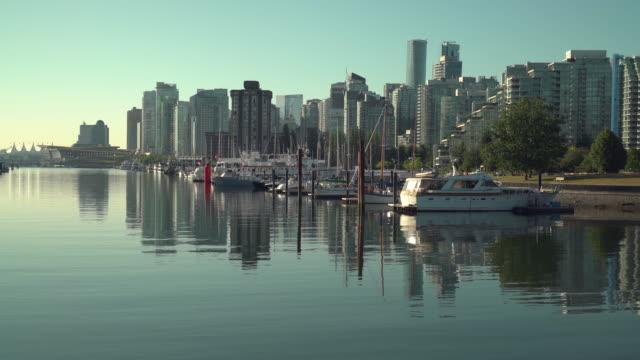 Coal-Harbor-Vancouver-Cityscape-4K-UHD