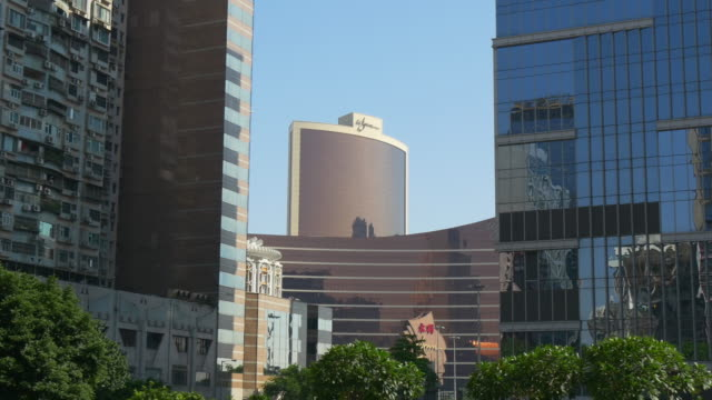 china-macau-cityscape-sunny-day-time-downtown-panorama-4k