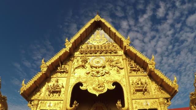 Time-Lapse-Wat-Sripanton-Temple-Downtown-Nan-Province-Thailand