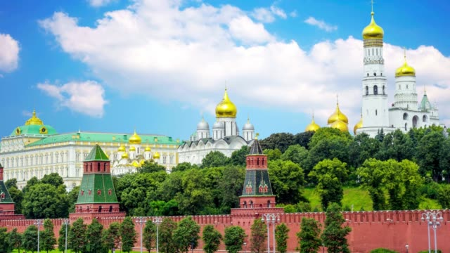 Beautiful-Kremlin-Palace-in-Moscow-Russia-