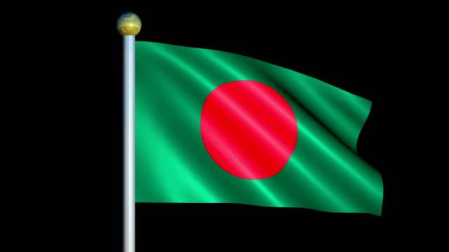 Large-Looping-Animated-Flag-of-Bangladesh