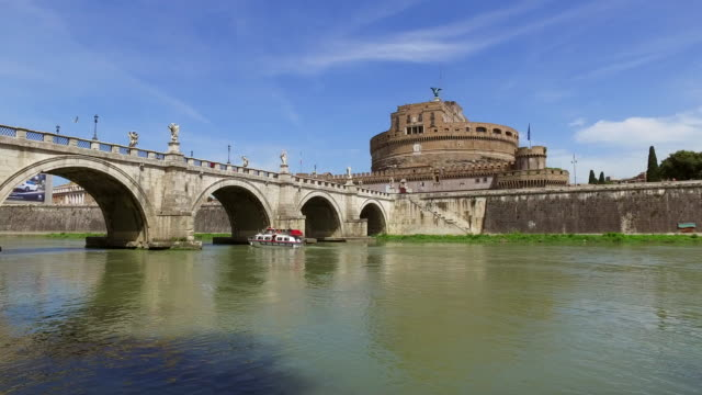 Rome-city-and-Tibre-Italy