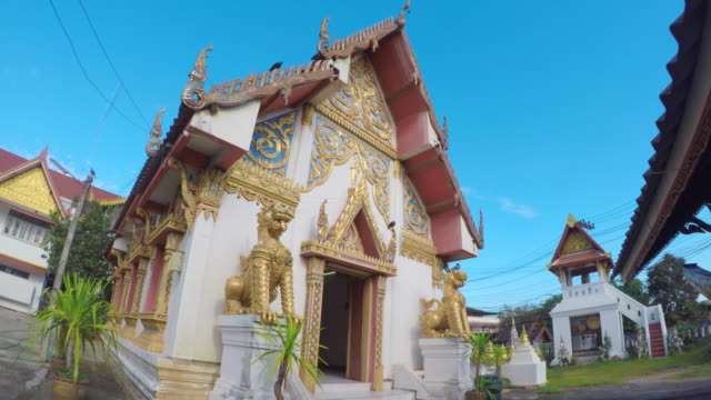 Old-Church-At-Wat-Sripanton-Temple-Downtown-Nan-Province-Thailand