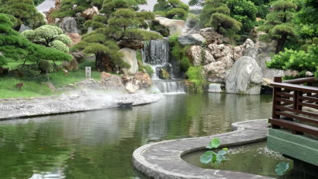 small-waterfall-feature-at-nan-lian-gardens-in-hong-kong