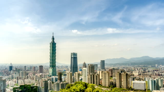Taipei-101-cityscape-time-lapse-in-Taiwan-