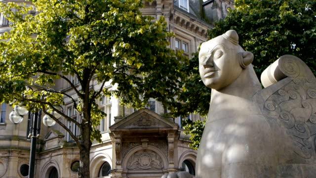 Detail-of-Victoria-Square-in-Birmingham-England-
