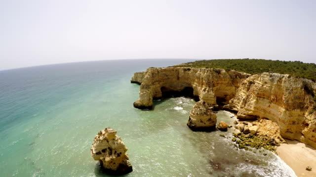 Aerial-Footage-Praia-da-Marinha-Porches-Algarve-Portugal