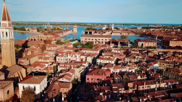 imágenes-aéreas-del-centro-de-la-ciudad-de-Venecia-Italia