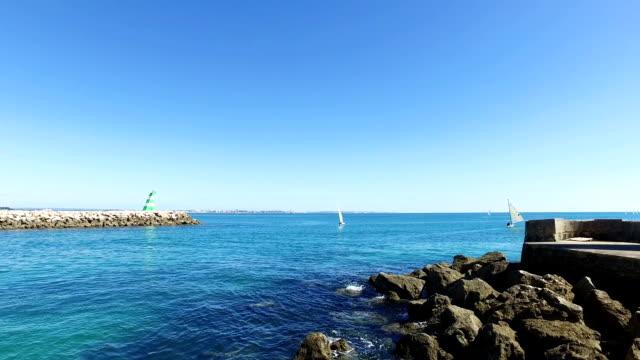 Segeln-im-Hafen-von-Lagos-Portugal