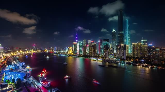 luz-de-noche-color-shanghai-panorámica-4-lapso-de-tiempo-k