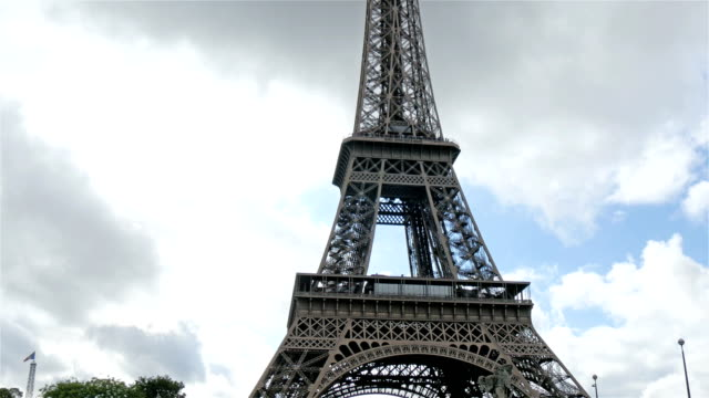 The-famous-Eiffel-tower-in-Paris-France
