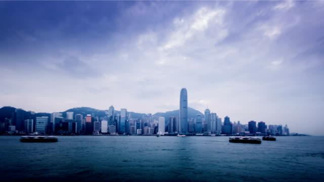 Hong-Kong-China-Nov-11-2014:-La-increíble-vista-del-puerto-de-Victoria-en-Hong-Kong-China