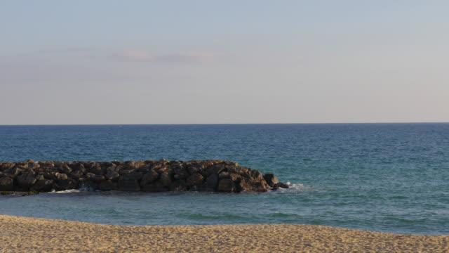 mediterranean-sea-coast-4k-caldes-d'estrac