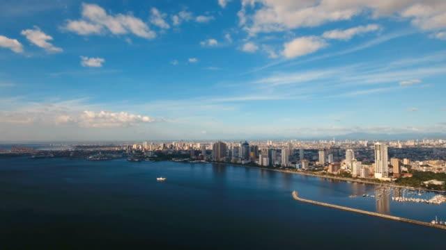 Antena-ciudad-con-rascacielos-y-edificios-Filipinas-Manila-Makati