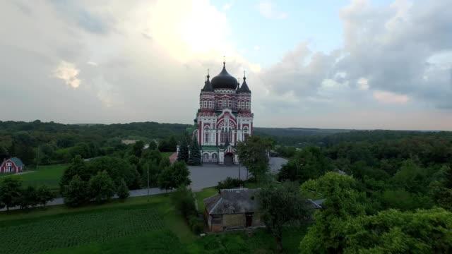 Vista-aérea-de-la-Catedral-de-St-Panteleimon-en-Kiev