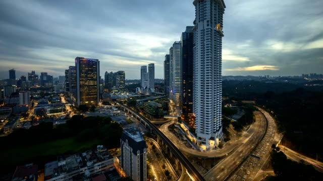dramatic-sunset-day-to-night-at-Kuala-Lumpur