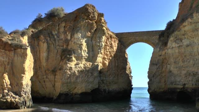 Algarve-coast-at-Lagos-Portugal