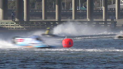 Formula-One-powerboats-race-on-a-course-in-Florida