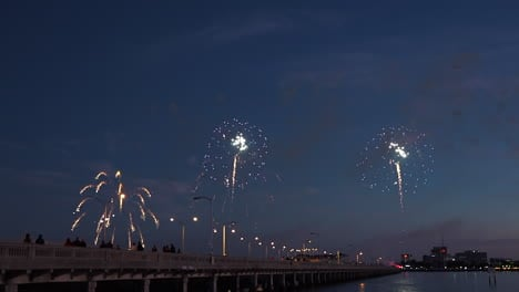 A-fireworks-display-over-water-marks-a-big-holiday-1