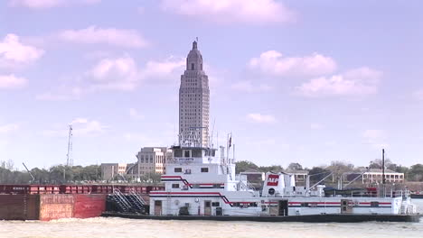 A-river-barge-passes-in-Baton-Rouge-Louisiana-1
