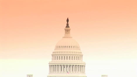 The-Capitol-building-dome-in-Washington-DC