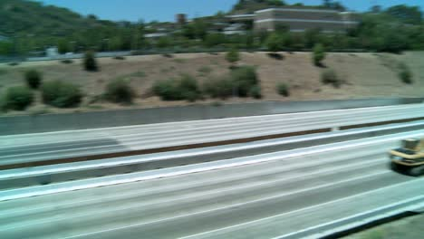 Pan-left-to-right-over-an-empty-stretch-of-the-405-freeway-in-Los-Angles-as-crews-tear-down-part-of-a-bridge-1