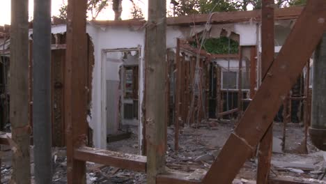 Pan-right-to-left-inside-a-house-in-the-process-of-being-demolished-1