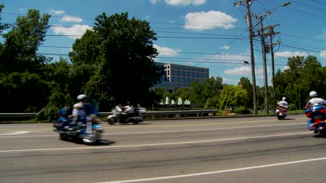 A-Shriner-s-parade-features-motorcycles-traveling-in-circles