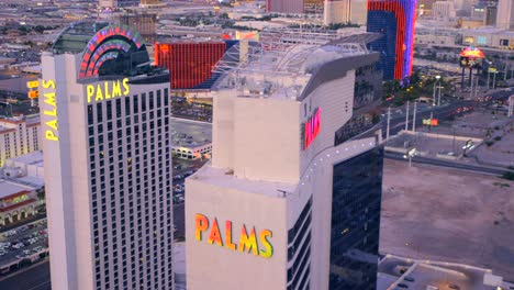 Aerial-view-of-the-Palms-in-Las-Vegas-Nevada