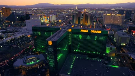 Aerial-view-of-the-MGM-Grand-in-Las-Vegas-Nevada
