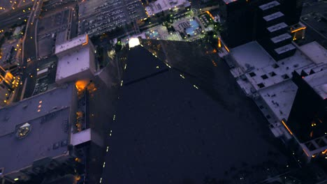 Aerial-view-of-the-Luxor-in-Las-Vegas-Nevada-1
