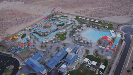 Aerial-view-of-a-water-park-near-Las-Vegas-Nevada