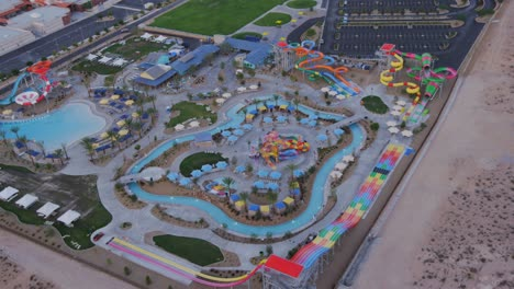 Aerial-view-of-a-water-park-near-Las-Vegas-Nevada-2