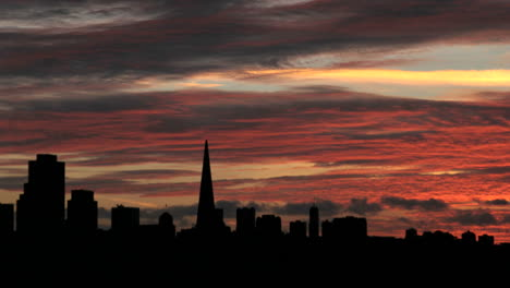 A-colorful-sky-fades-to-darkness-over-the-San-Francisco-skyline-1